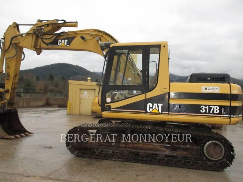 CATERPILLAR PELLES SUR CHAINES 317B equipment  photo 3