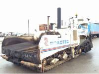 ROADTEC ASPHALT PAVERS RP185 equipment  photo 2