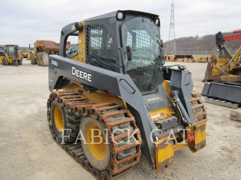 DEERE & CO. SKID STEER LOADERS 328E equipment  photo 1