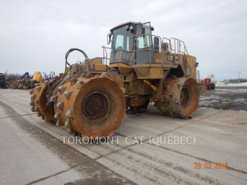 CATERPILLAR COMPACTADORES 836H equipment  photo 1