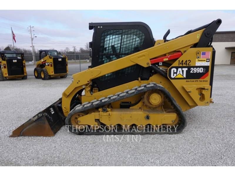 CATERPILLAR MULTITERREINLADERS 299D2 equipment  photo 6