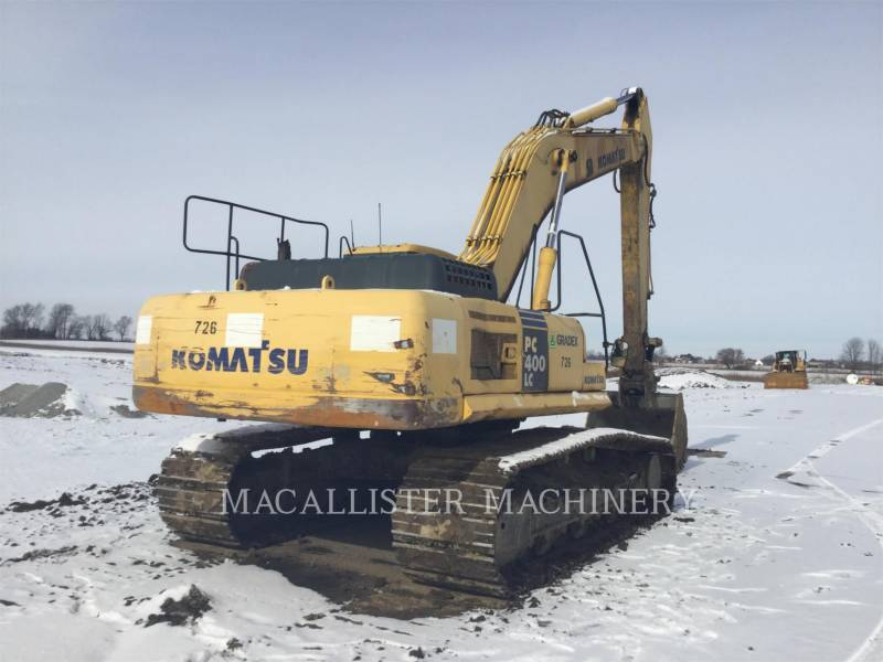 KOMATSU TRACK EXCAVATORS PC400LC-7L equipment  photo 2