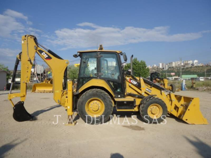 CATERPILLAR TERNE 428F2LRC equipment  photo 1