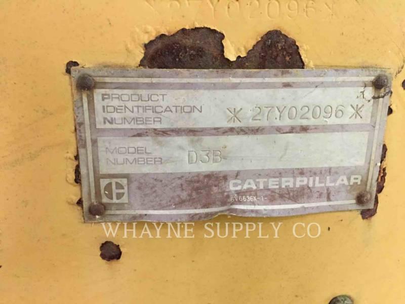 CATERPILLAR TRACTOREN OP RUPSBANDEN D3B equipment  photo 8