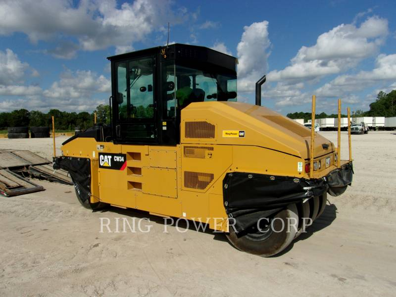 CATERPILLAR VIBRATORY DOUBLE DRUM ASPHALT CW34 equipment  photo 2
