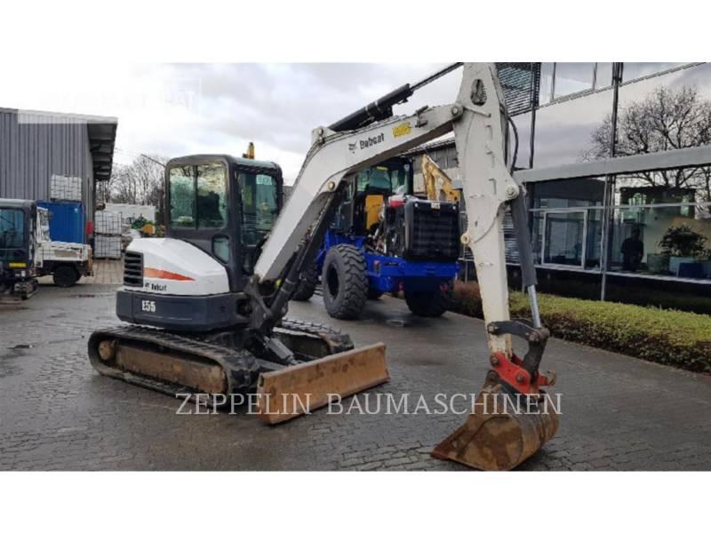 BOBCAT KETTEN-HYDRAULIKBAGGER E55 equipment  photo 2