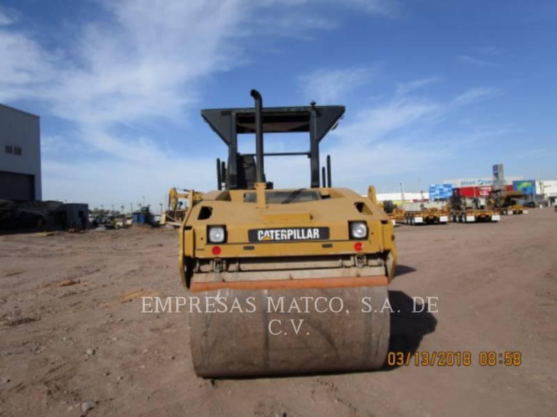 CATERPILLAR TAMBOR DOBLE VIBRATORIO ASFALTO CB-534D equipment  photo 4
