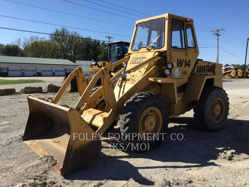 CASE WHEEL LOADERS/INTEGRATED TOOLCARRIERS W14 equipment  photo 1