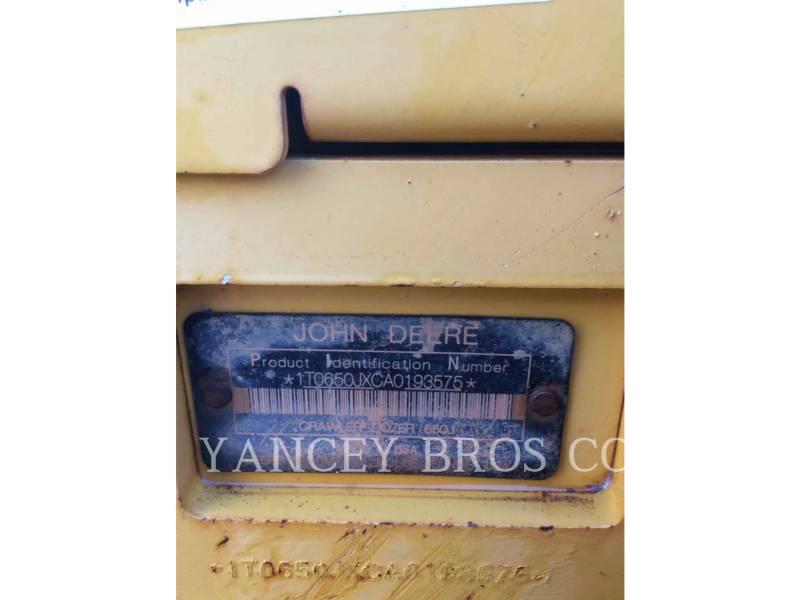 DEERE & CO. TRACK TYPE TRACTORS 650JXLT equipment  photo 5