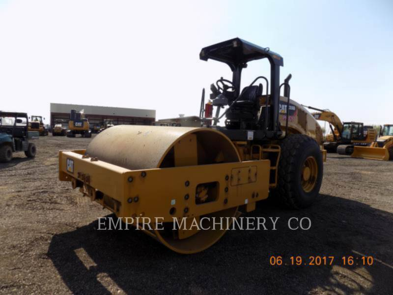 CATERPILLAR COMPACTEUR VIBRANT, MONOCYLINDRE À PIEDS DAMEURS CS56B   ST equipment  photo 4