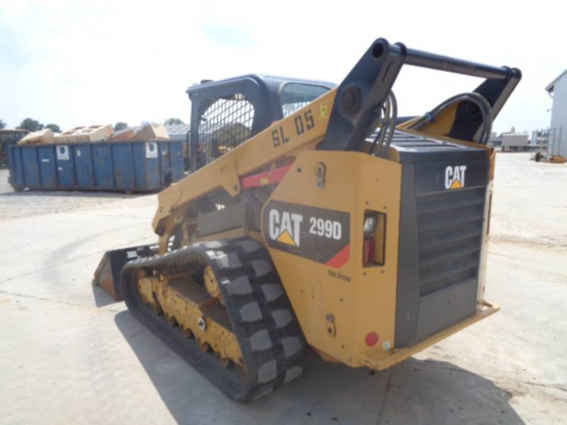 CATERPILLAR CHARGEURS TOUT TERRAIN 299D equipment  photo 5