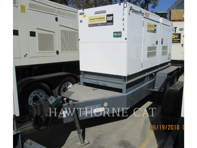 AIRMAN PORTABLE GENERATOR SETS (OBS) SDG150S equipment  photo 3