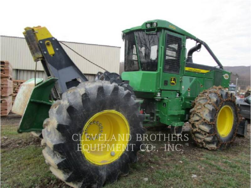 DEERE & CO. FORESTRY - SKIDDER 640L equipment  photo 3