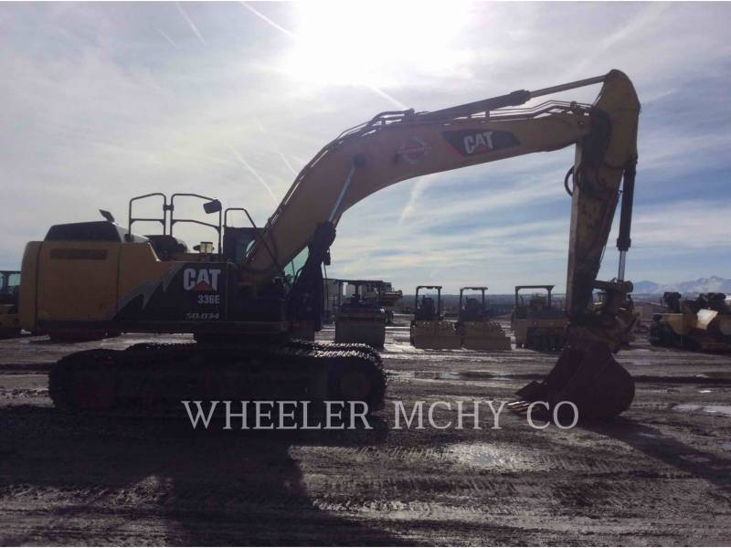 CATERPILLAR EXCAVADORAS DE CADENAS 336E L CFM equipment  photo 1