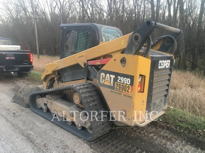 CATERPILLAR SKID STEER LOADERS 299D XPS equipment  photo 4
