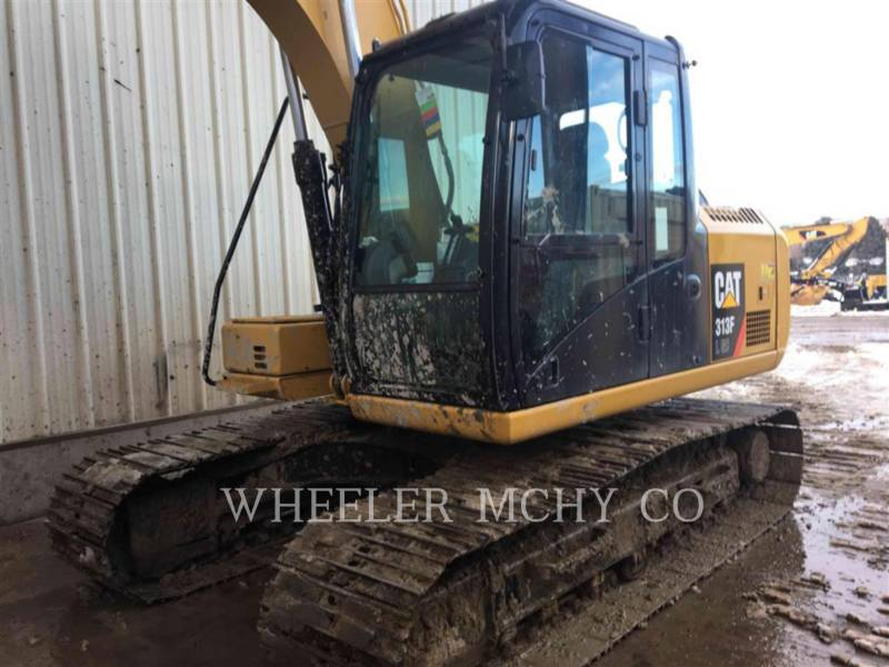 CATERPILLAR TRACK EXCAVATORS 313F GC CF equipment  photo 5