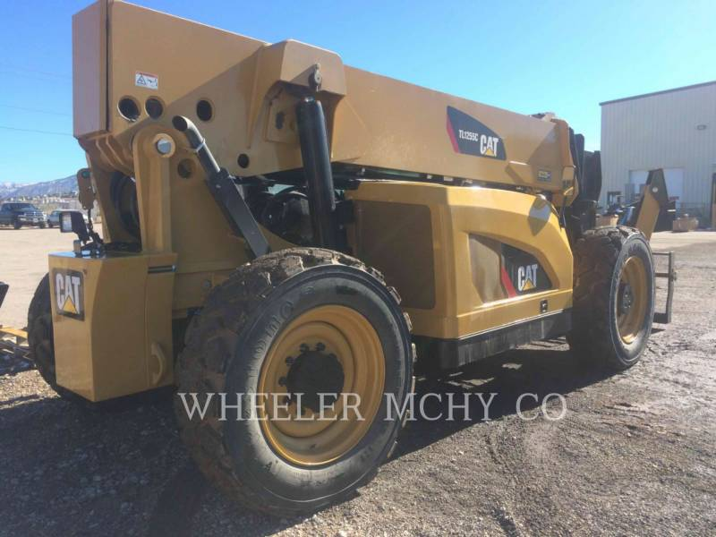 CATERPILLAR TELEHANDLER TL1255C CB equipment  photo 3