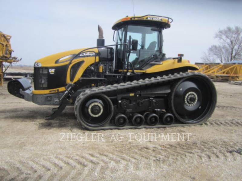 AGCO-CHALLENGER LANDWIRTSCHAFTSTRAKTOREN MT865C equipment  photo 6