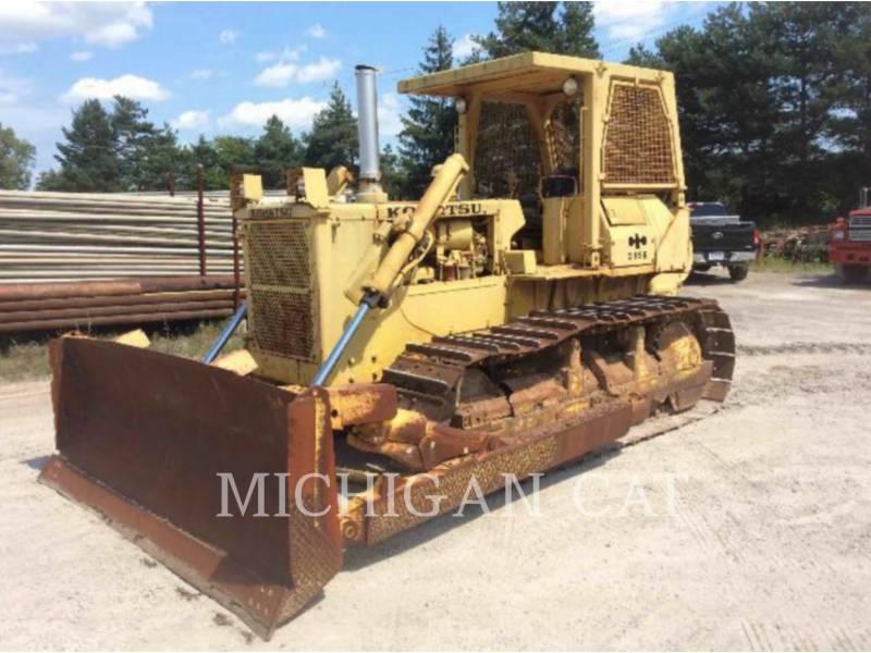 KOMATSU TRACK TYPE TRACTORS D65E equipment  photo 1