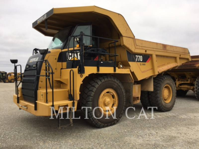 CATERPILLAR TOMBEREAUX DE CHANTIER 770 equipment  photo 1