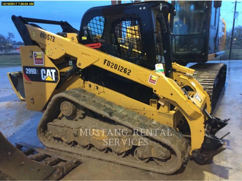 CATERPILLAR PALE CINGOLATE MULTI TERRAIN 299D2 equipment  photo 1