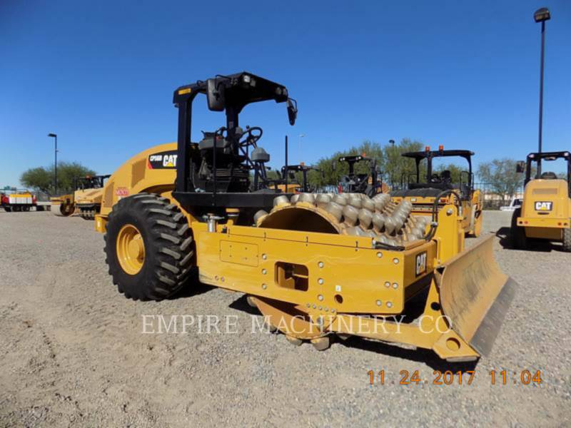 CATERPILLAR EINZELVIBRATIONSWALZE, BANDAGE CP56B equipment  photo 1