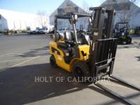 Equipment photo CATERPILLAR MITSUBISHI P5000-LE CARRELLI ELEVATORI A FORCHE 1