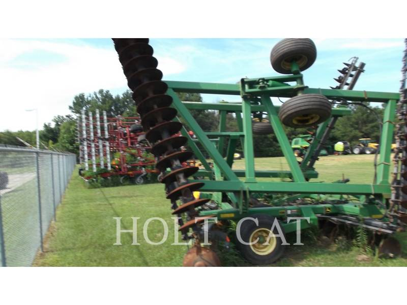 JOHN DEERE AG TILLAGE EQUIPMENT 637 equipment  photo 4