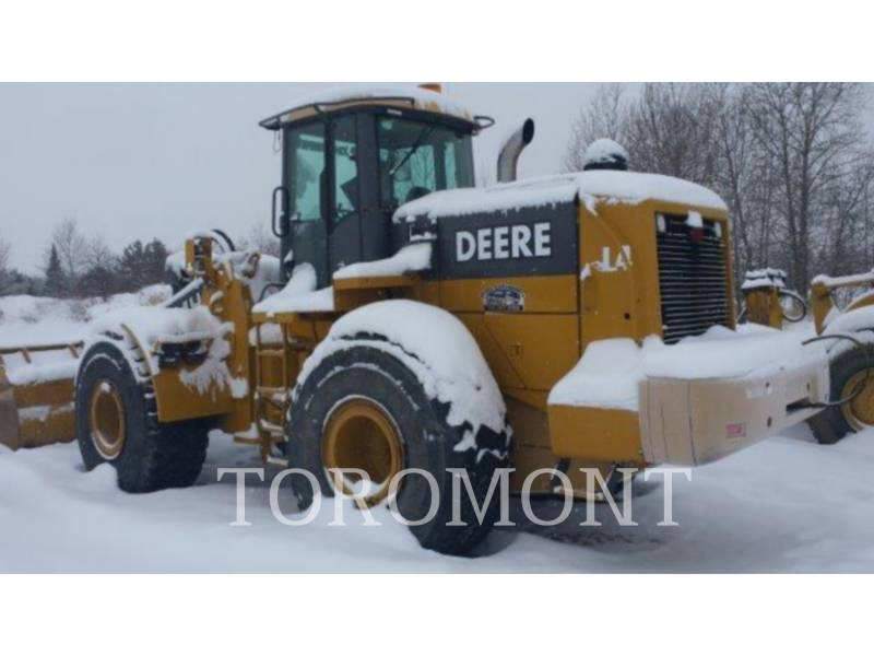 DEERE & CO. WHEEL LOADERS/INTEGRATED TOOLCARRIERS 744H equipment  photo 2