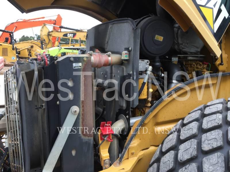 CATERPILLAR EINZELVIBRATIONSWALZE, GLATTBANDAGE CS56 equipment  photo 9