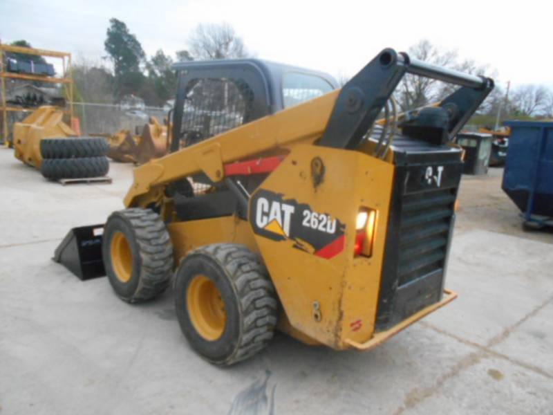 CATERPILLAR CHARGEURS COMPACTS RIGIDES 262D equipment  photo 6