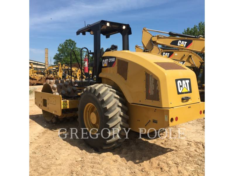 CATERPILLAR COMPACTEUR VIBRANT, MONOCYLINDRE À PIEDS DAMEURS CP 56 equipment  photo 1