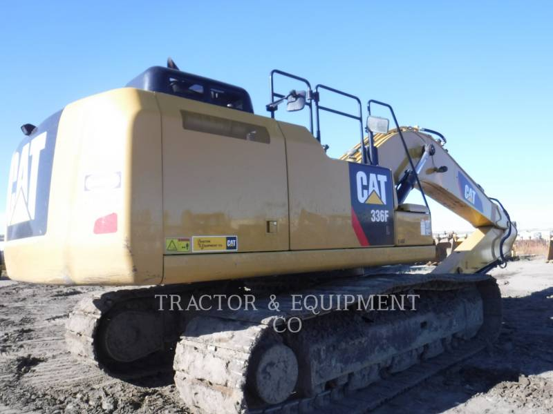 CATERPILLAR KOPARKI GĄSIENICOWE 336F L equipment  photo 3