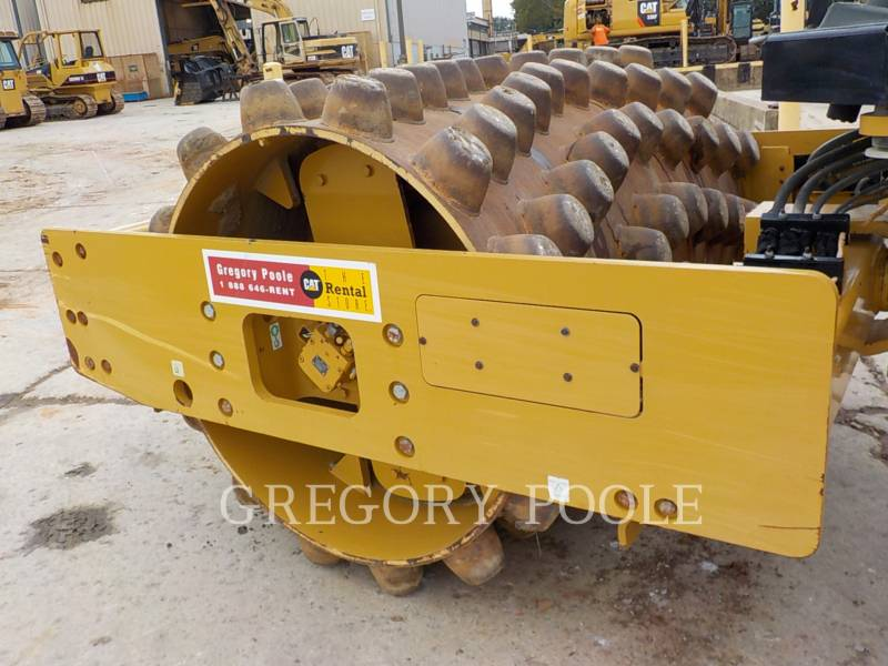 CATERPILLAR VIBRATORY SINGLE DRUM PAD CP54B equipment  photo 16