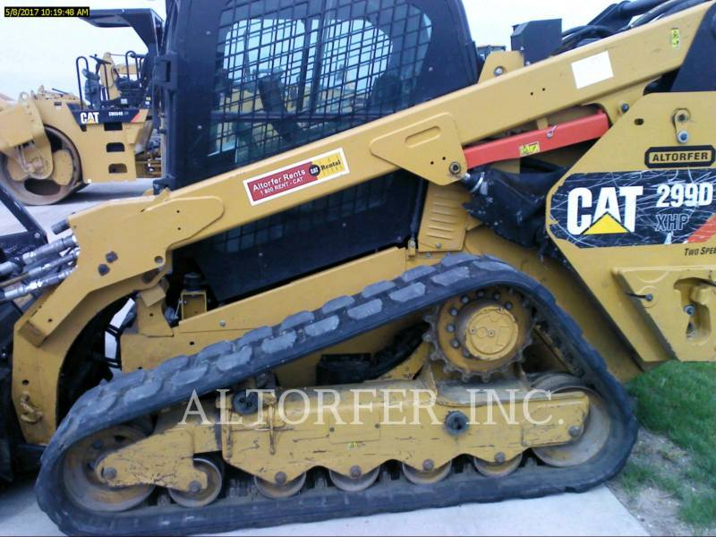 CATERPILLAR MINICARGADORAS 299D XHP equipment  photo 3