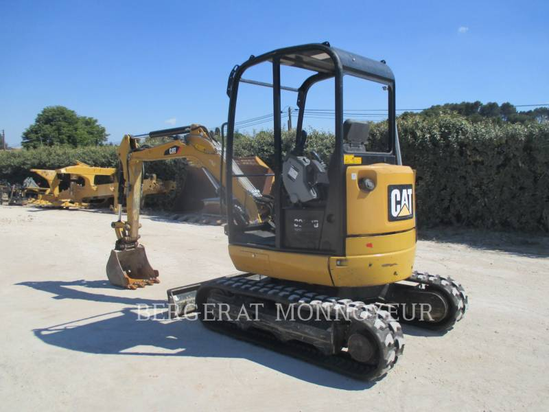 CATERPILLAR KETTEN-HYDRAULIKBAGGER 302.7D CR equipment  photo 4