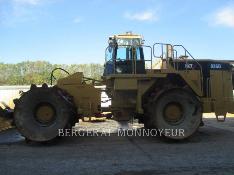 CATERPILLAR WHEEL DOZERS 836 equipment  photo 3