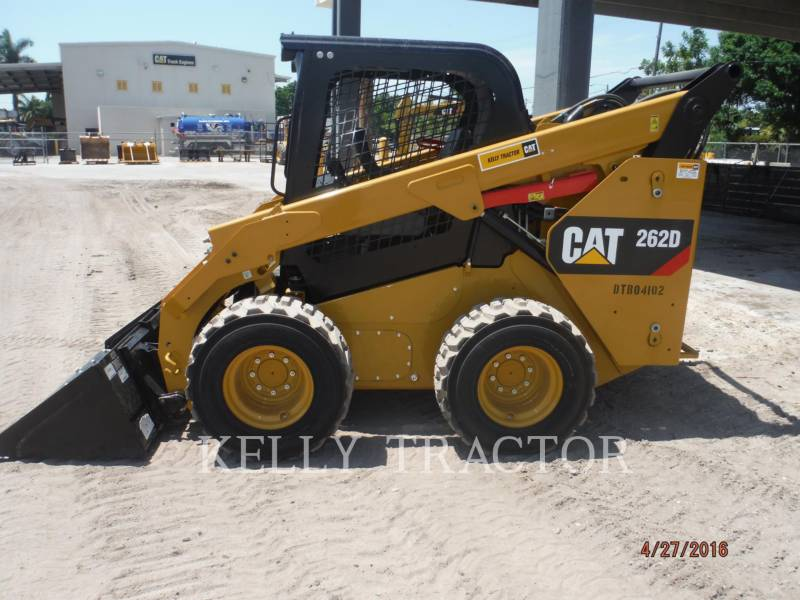 CATERPILLAR MINICARREGADEIRAS 262D equipment  photo 1