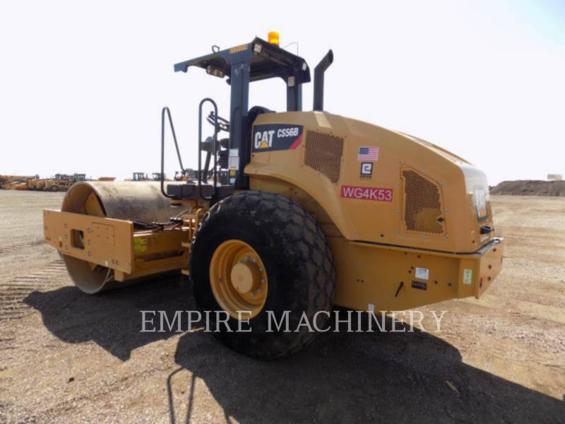 CATERPILLAR EINZELVIBRATIONSWALZE, GLATTBANDAGE CS56B equipment  photo 3