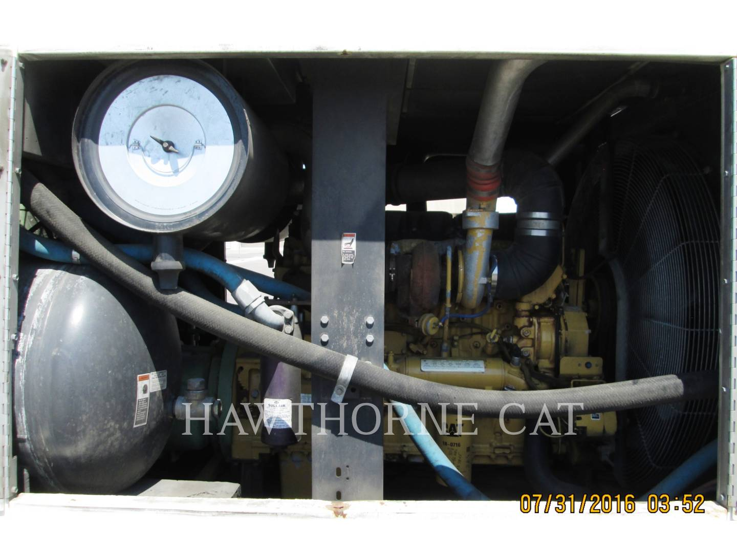Detail photo of 2004 Sullair 1600HF DTQ-CA3 from Construction Equipment Guide