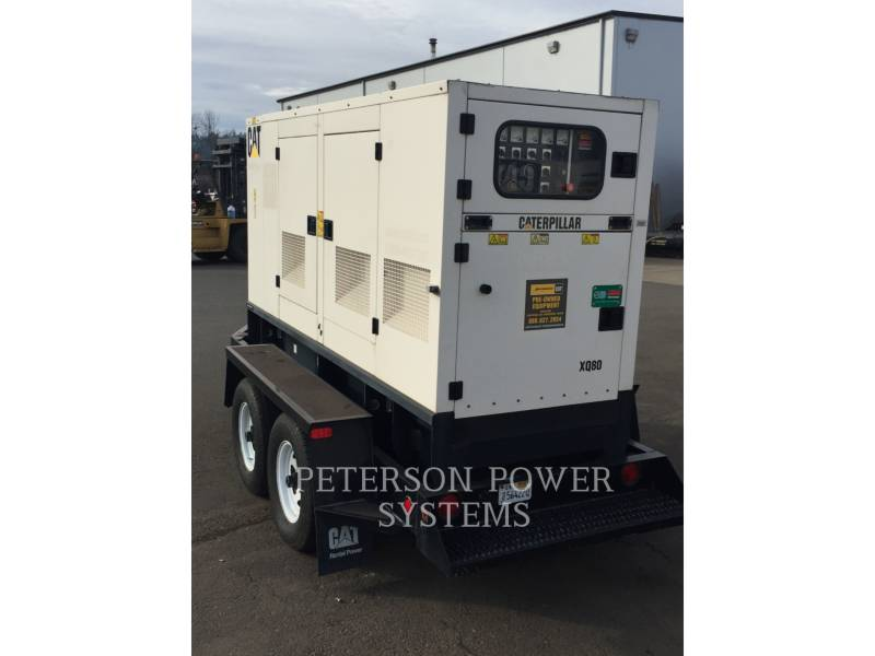 CATERPILLAR PORTABLE GENERATOR SETS XQ80 equipment  photo 2