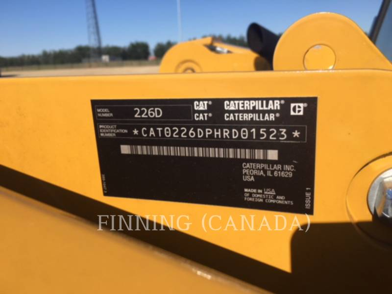 CATERPILLAR SKID STEER LOADERS 226D equipment  photo 5