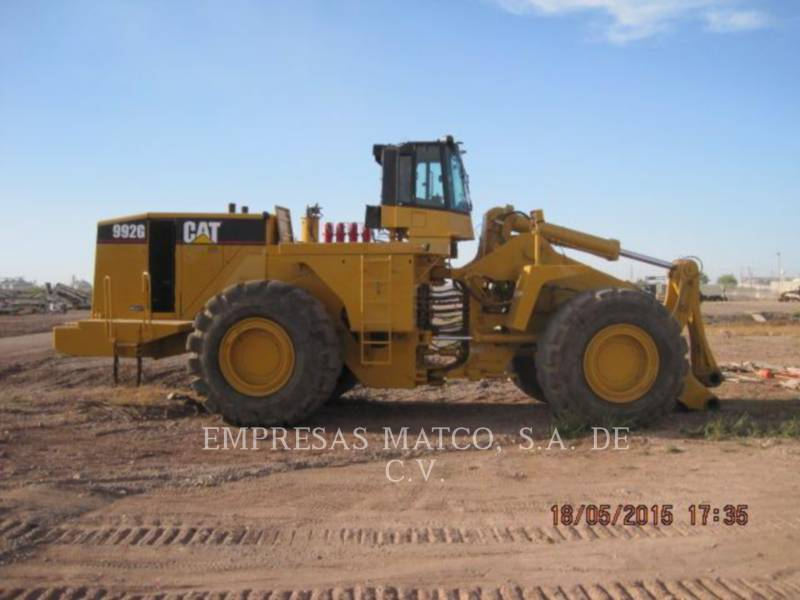 CATERPILLAR MINING WHEEL LOADER 992G equipment  photo 4