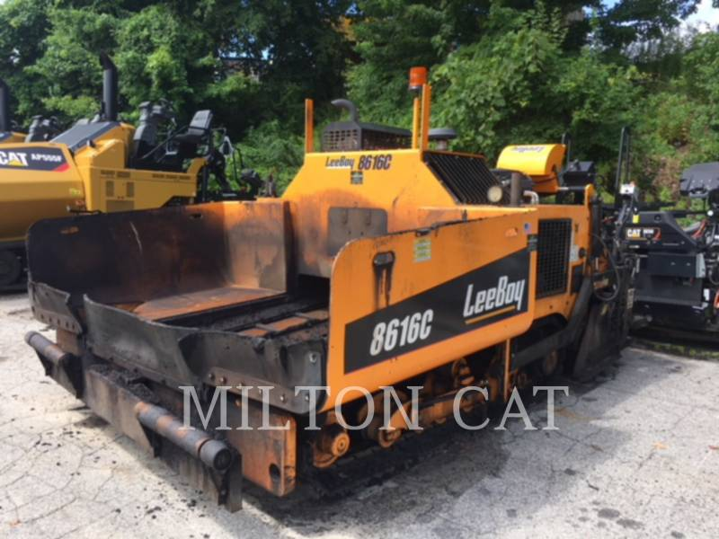 LEE-BOY ASPHALT PAVERS 8616B equipment  photo 1