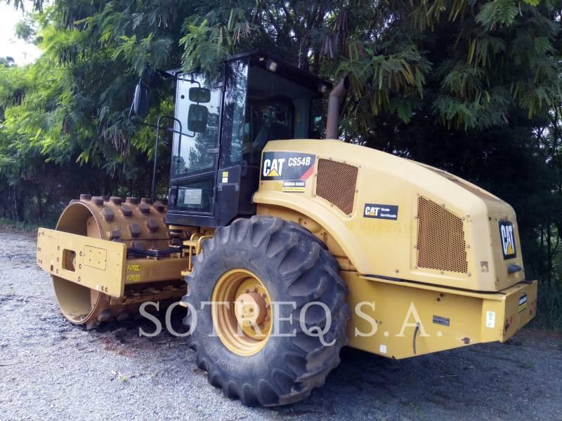 CATERPILLAR COMPATTATORE A SINGOLO TAMBURO VIBRANTE LISCIO CS54BLRC equipment  photo 3