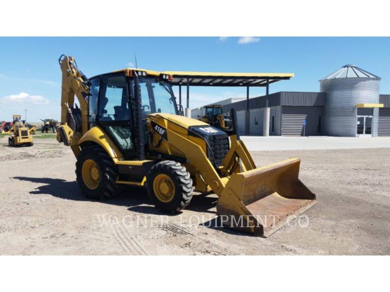 CATERPILLAR BAGGERLADER 416FST equipment  photo 4