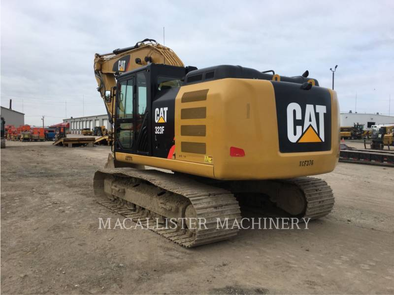 CATERPILLAR KOPARKI GĄSIENICOWE 323FL equipment  photo 3