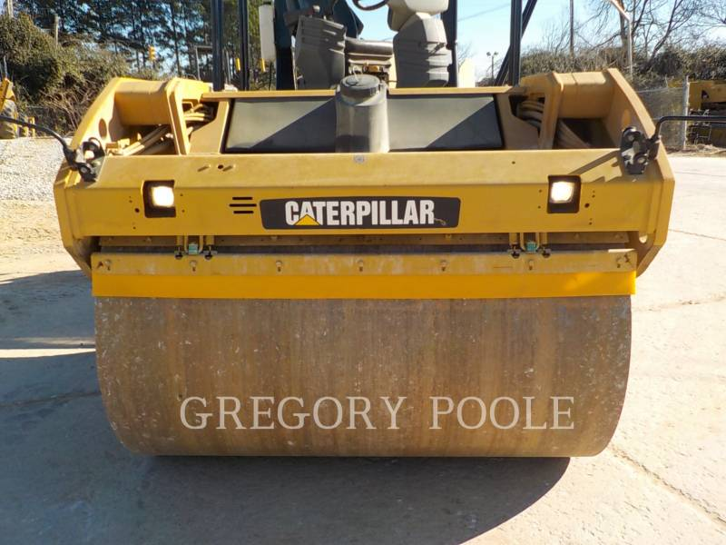CATERPILLAR VIBRATORY DOUBLE DRUM ASPHALT CB-54 equipment  photo 8
