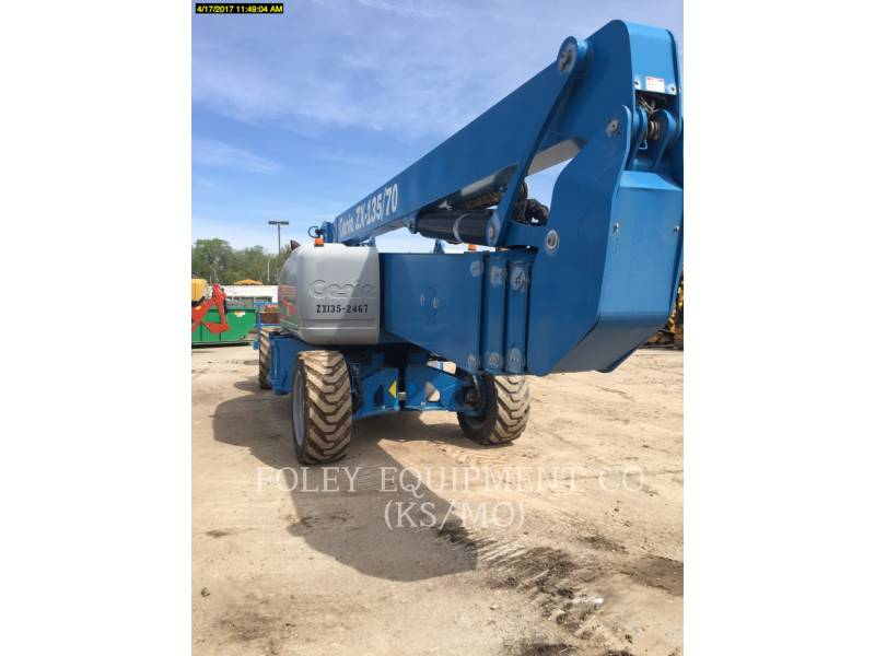 GENIE INDUSTRIES LIFT - BOOM Z135/70D4W equipment  photo 4