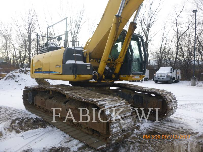 KOBELCO / KOBE STEEL LTD PELLES SUR CHAINES SK485LC equipment  photo 6